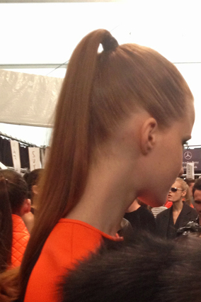 Reinvent Your Pony Runway Inspired Ponytails
