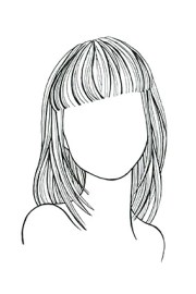 haircut face - styles