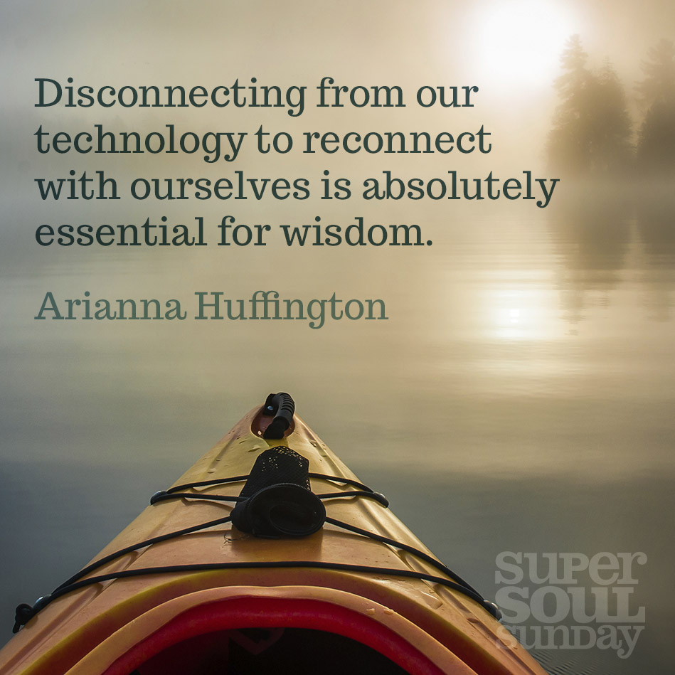 unplug, disconnect, self sustenance