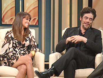 Halle Berry And Benicio Del Toro