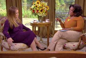 Lisa Marie Presley and Oprah
