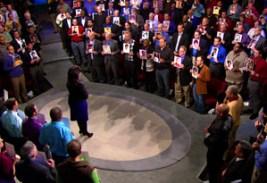 Oprah and 200 men