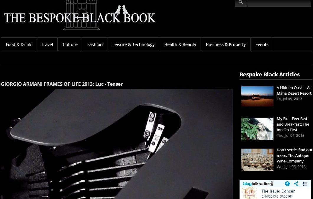 Bespoke Black Book