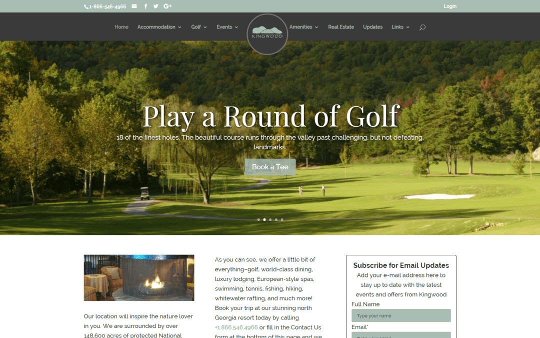 Kingwood Resort Golf Community