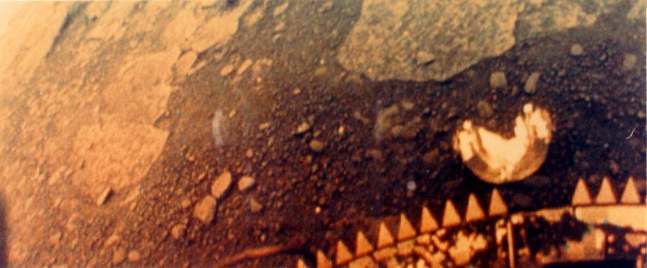 Ezt látta a Vénusz felszínén a szovjet Venyera-13 szonda