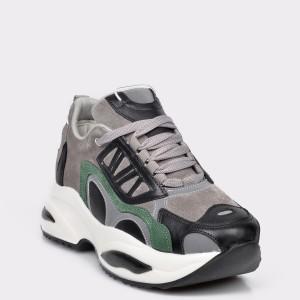 Pantofi sport FLAVIA PASSINI gri, 3621808, din piele intoarsa