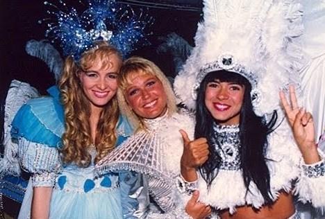 Angélica, Xuxa e Mara Maravilha nos anos 90 (Foto: Divulgação)