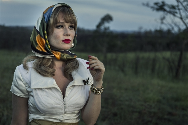 Adalgisa (Mariana Ximenes) na minissérie Se Eu Fechar os Olhos Agora (Foto: Mauricio Fidalgo/Globo)