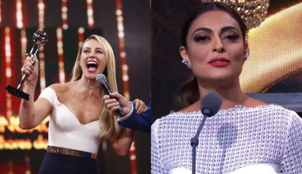 Paolla Oliveira e Juliana Paes no Melhores do Ano