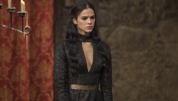 Catarina(Bruna Marquezine) em cena de Deus Salve o Rei (Foto: Artur Meninea/Globo)