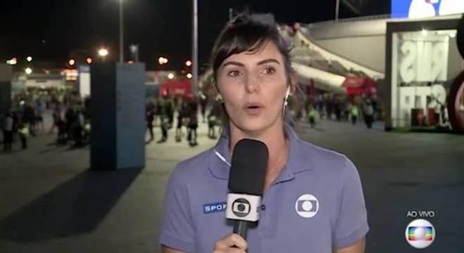 A jornalista Glenda Kozlowski (Foto: Reprodução/Globo)