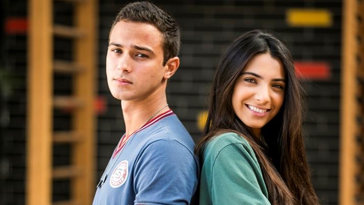 Márcio e Pérola de Malhação: Vidas Brasileiras (Foto: Divulgação)
