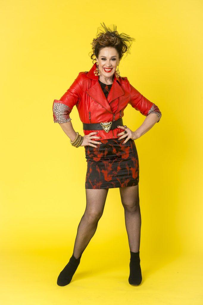 Claudia Raia apresenta visual para personagem da novela Verão 90 Graus (Foto: João Cotta/TV Globo)