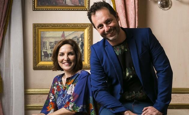 Alessandro Marson e Thereza Falcão já escreveram Novo Mundo para a Globo (Foto: Divulgação)