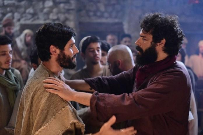 Dudu Azevedo em cena de Jesus (Foto: Reprodução)