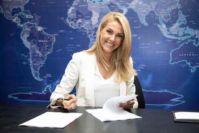 Apresentadora da Record, Ana Hickmann (Foto: Edu Moares/RecordTV)