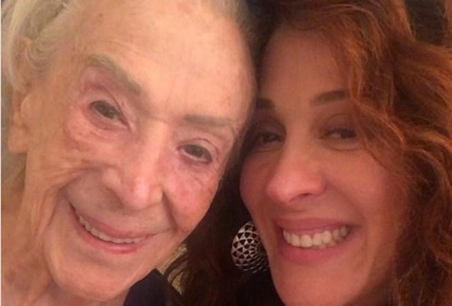 Atriz, Claudia Raia com a mãe, Odette Motta Raia (Foto: Reprodução/Instagram)