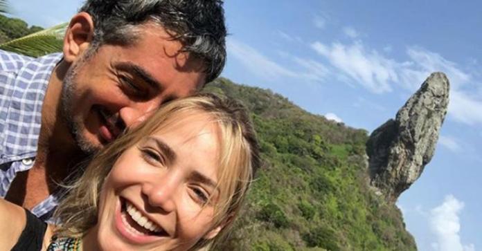 Letícia Colin e Michel Melamed em viagem romântica em Noronha (Foto: Reprodução)
