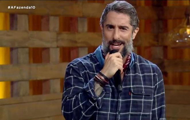 Marcos Mion apresenta A Fazenda (Foto: Reprodução/PlayPlus)