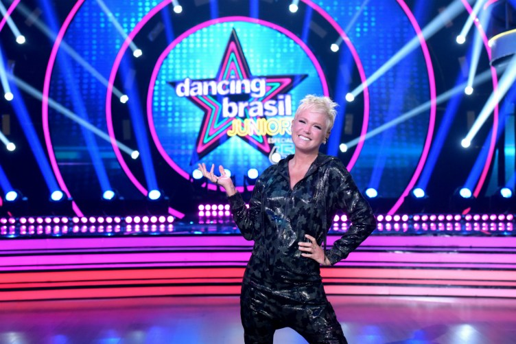 Xuxa no Dancing Brasil Junior na Record
