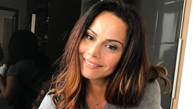 A atriz e rainha de bateria Viviane Araújo (Foto: Divulgação)