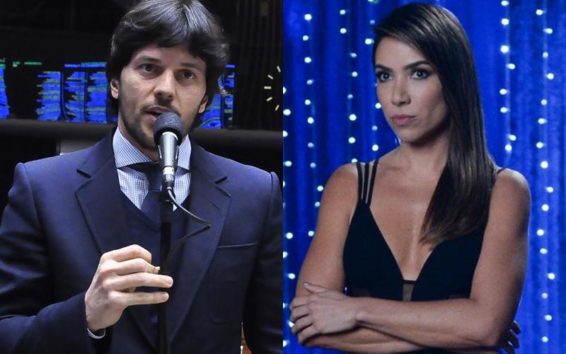 Fábio Faria e Patricia Abravanel (Foto: Reprodução)