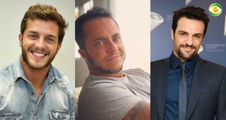 Thammy Miranda, Rodrigo Lombardi e Klebber Toledo na mesma lista