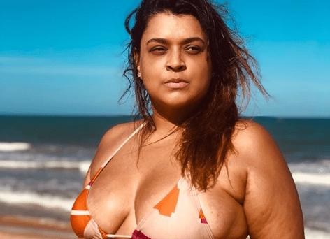 A apresentadora Preta Gil choca ao mostrar corpo. (Foto: Reprodução/Instagram)