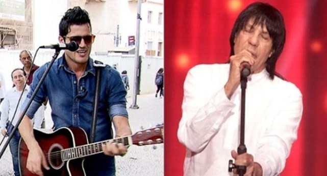 Fabiano Martins e Marciano, seu pai (Foto: Reprodução/Facebook)