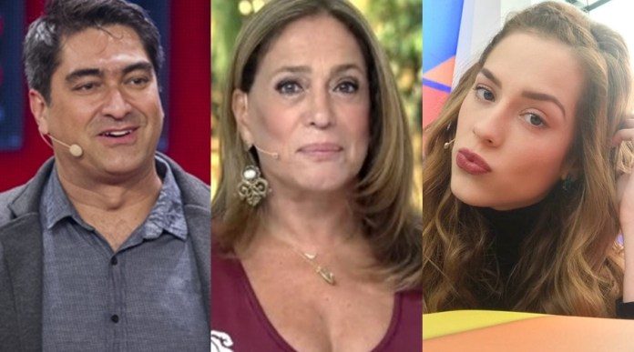 Vários apresentadores passaram pelo comando do programa na Globo (Foto: Reprodução)