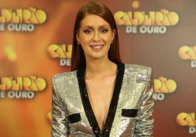 A atriz Marina Ruy Barbosa esteve no Caldeirão de Ouro (Foto: Divulgação/Globo)