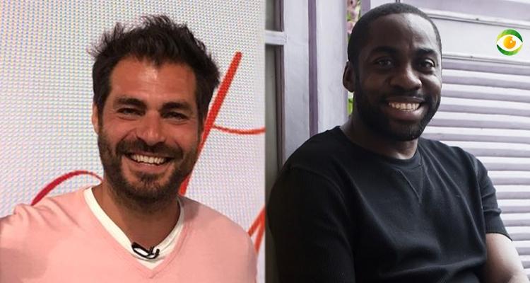 Thiago Lacerda e Lazaro Ramos surpreenderam na Globo