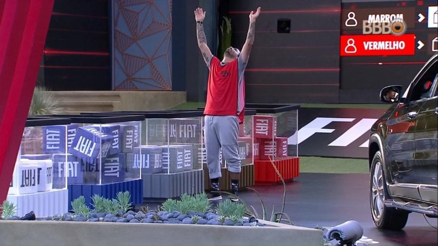 Vinicius foi eliminado da disputa (Foto: TV Globo)
