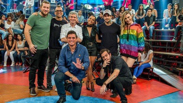 Altas Horas especial com campeões do BBB (Foto: Reprodução)