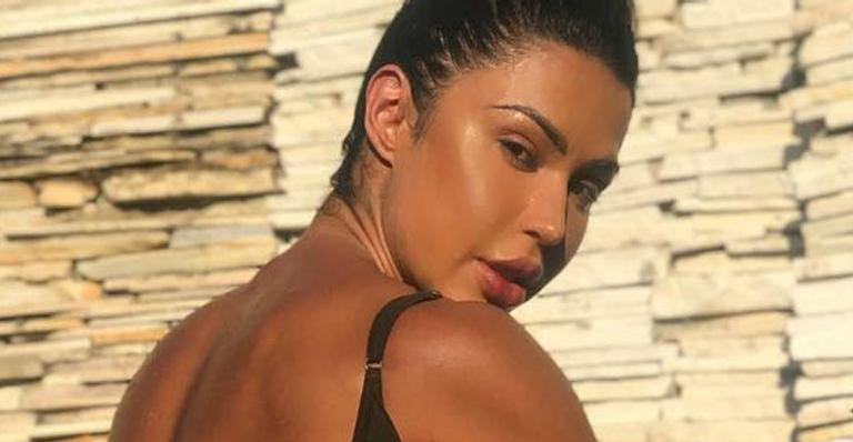 Gracyanne Barbosa voltou a causar por conta do corpo (Foto: Reprodução/Instagram)