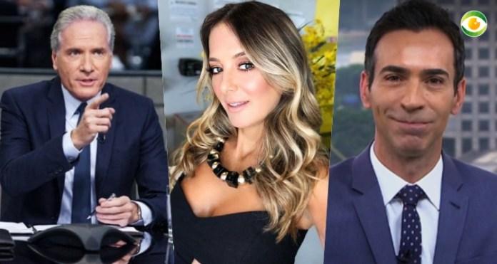 Roberto Justus fala sobre Ticiane Pinheiro e César Tralli