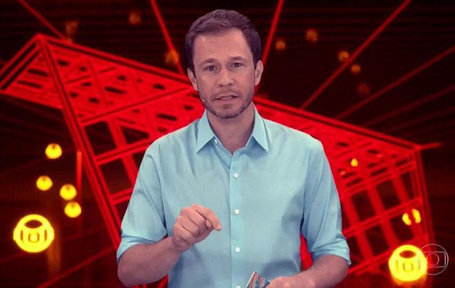 Tiago Leifert é o apresentador do BBB19 (Foto: Reprodução)