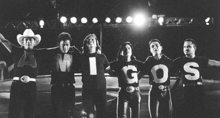 Programa Amigos foi ao ar entre 1995 e 1998 na Globo. (Foto: Divulgação)