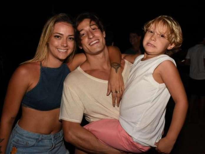 Carol Dantas e Vinicius Martinez é padrasto de Davi Lucca, filho de Neymar (Instagram/Reprodução