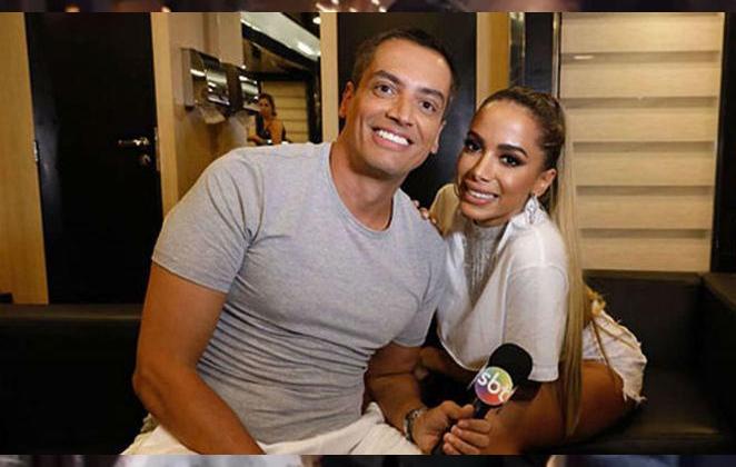 Leo Dias afirma ter terminado a biografia de Anitta - Divulgação/SBT