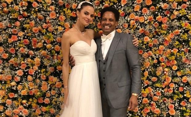 Barbara Fialho e Rohan Marley (Foto: Divulgação/Vogue)