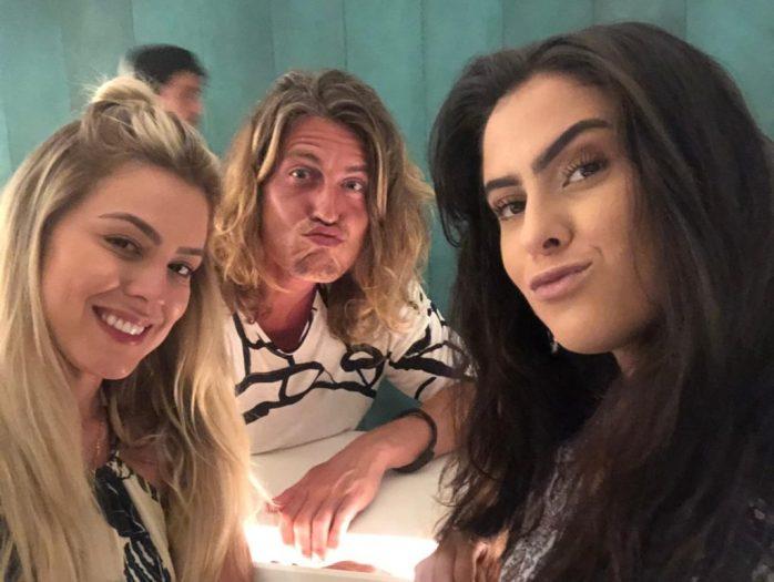 Isabella, Hana e Alberto do BBB19 (Foto: Divulgação)