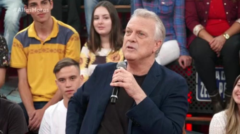 O jornalista Pedro Bial durante participação no programa Altas Horas (Foto: Reprodução)
