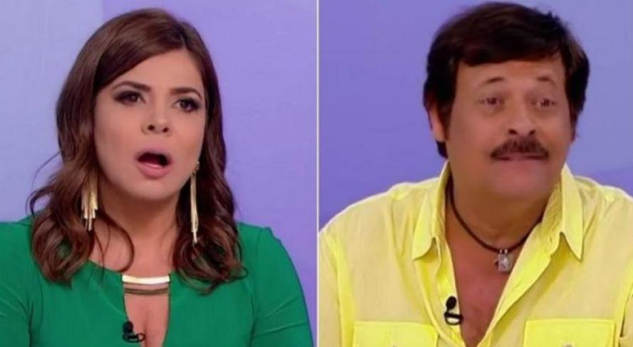 Mara Maravilha e Carlinhos Aguiar tem atritos no SBT e na frente das câmeras no Jogo dos Pontinhos do Programa Silvio Santos