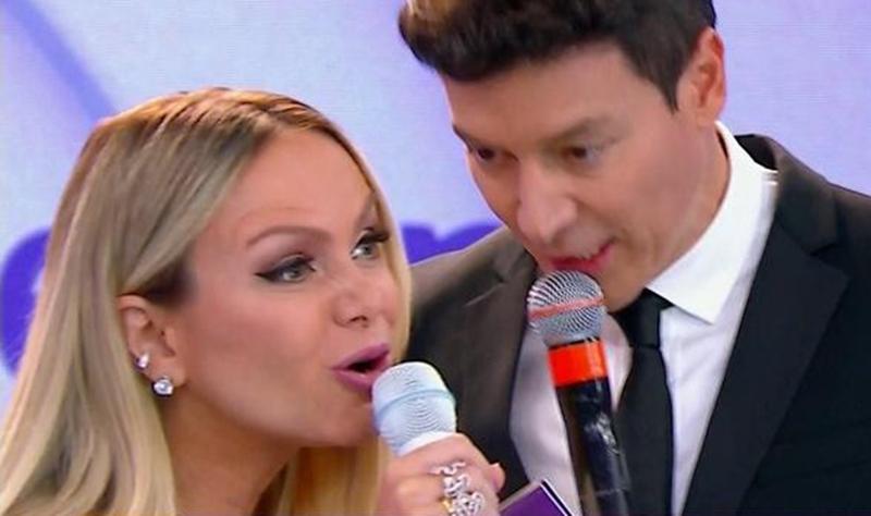 Eliana e Rodrigo Faro juntos não dão a audiência da Globo (Foto: Reprodução)