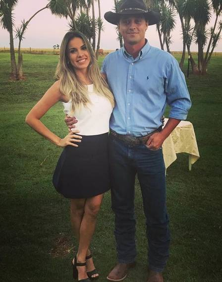 Fael do BBB12 e esposa (Foto: Reprodução/ Instagram)