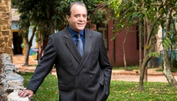 Tony Ramos (Olavo) em O Sétimo Guardião (Foto: Globo/João Miguel Júnior)