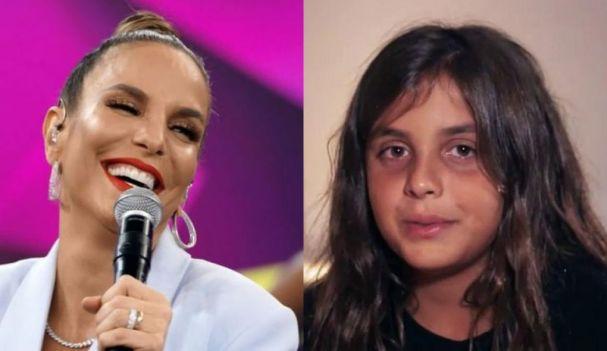 Filho de Ivete Sangalo mandou recado pra cantora (Foto: Reprodução)