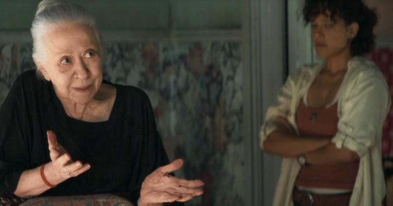 Dulce (Fernanda Montenegro) está na trama da Globo em A Dona do Pedaço