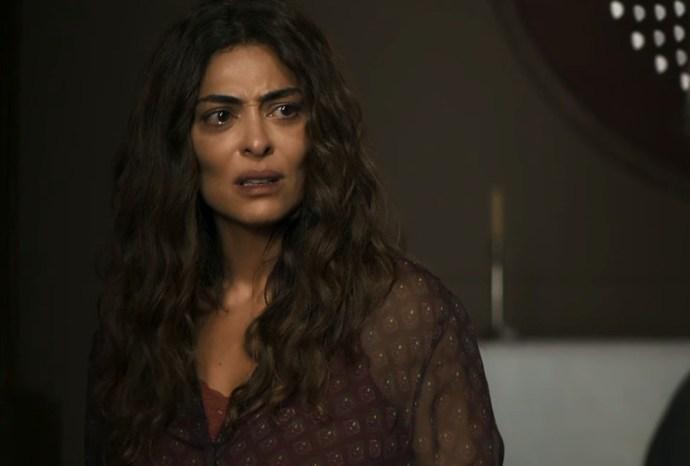 Maria da Paz (Juliana Paes) descobrirá que está grávida de seu grande amor em A Dona do Pedaço da Globo